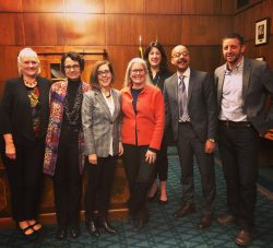 Coalition board members met with Gov. Kate Brown to talk arts & culture