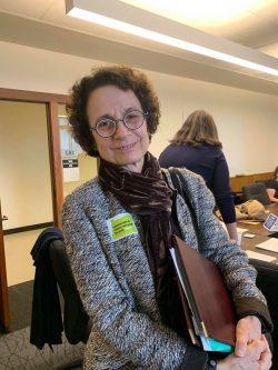 Coalition Board of Directors President Dr. Nancy Golden